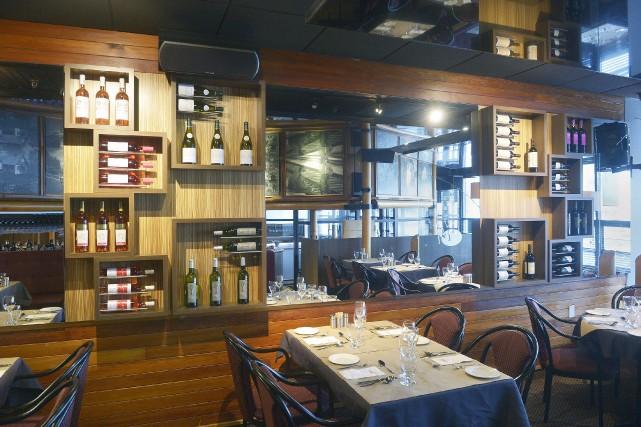 La salle à manger du bistro La Cohue... (Le Soleil, Jean-Marie Villeneuve)