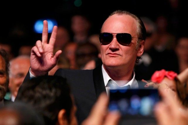 Quentin Tarantino... (PHOTO YVES HERMAN, REUTERS)