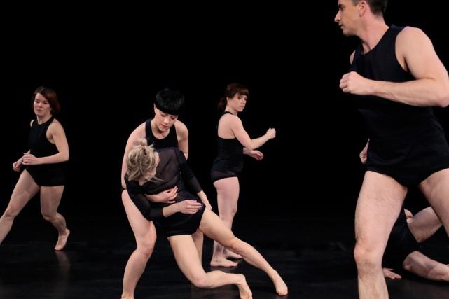 À partir d'exercices que les danseurs ont eu... (PHOTO FOURNIE PAR LA PRODUCTION)