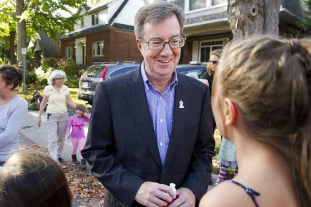 Le maire sortant d'Ottawa, Jim Watson, qui promet... (Martin Roy, LeDroit)