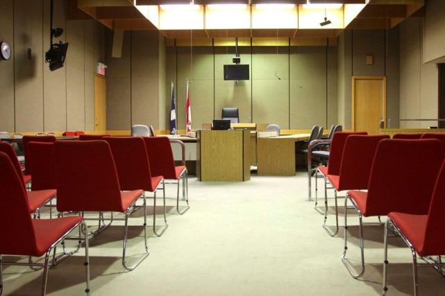 L'odeur de cannabis envahissait la salle de cour,... (Patrick Woodbury, Archives LeDroit)