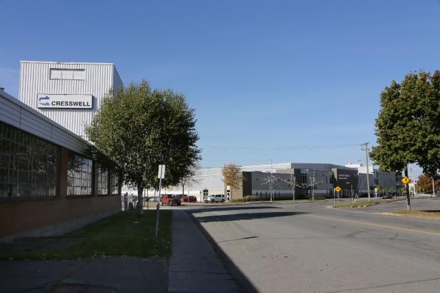 L'usine des Industries Cresswell est à un jet... (Photo Alain Dion)