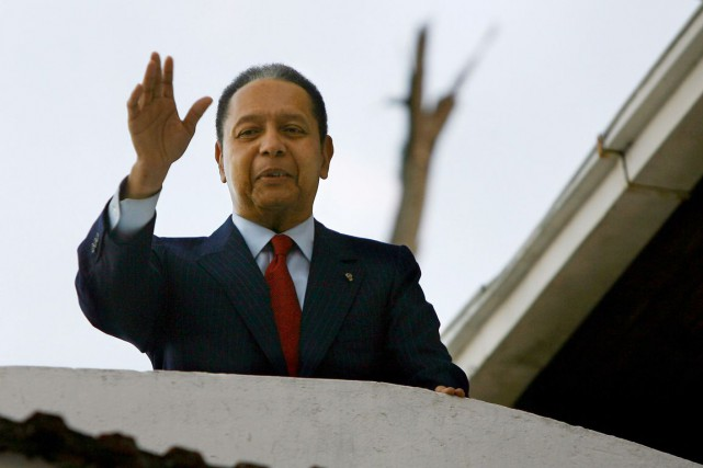 Jean-Claude Duvalier... (PHOTO ARCHIVES AFP)