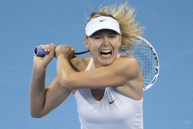 Maria Sharapova... (PHOTO FRED DUFOUR, AFP)