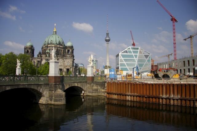 L'un des gros attraits touristiques de Berlin, c'est... (Photo Shutterstock, 360B)