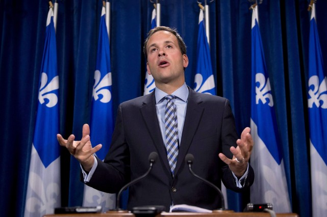 Alexandre Cloutier, député de Lac-Saint-Jean, est un partisan... (Photo Jacques Boissinot, archives La Presse Canadienne)