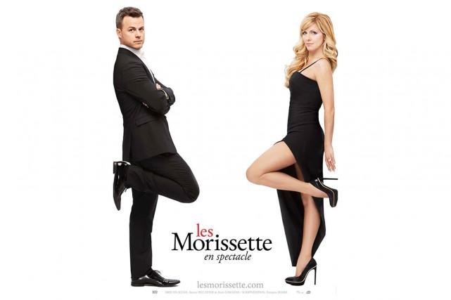 L'affiche du spectacle Les Morissette.... (Courtoisie)