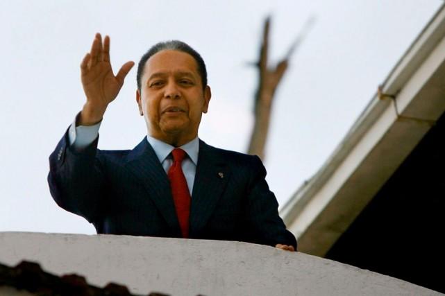 L'ex-dictateur haïtien Jean-Claude Duvalier... (PHOTO ARCHIVES AFP)