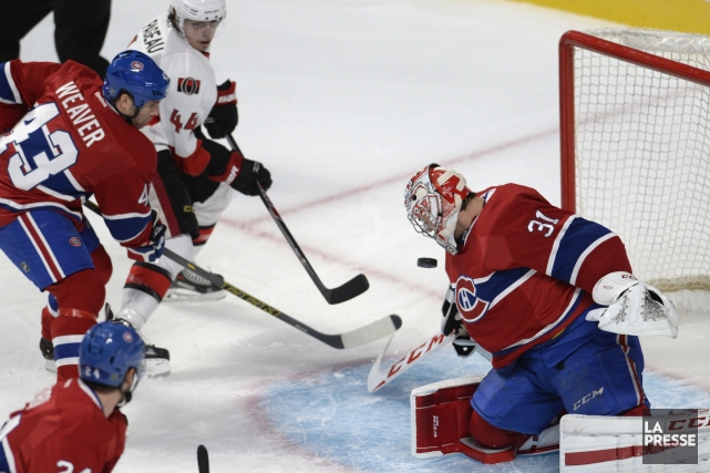 Relisez notre couverture en direct du dernier match préparatoire du Canadien,... (Photo Bernard Brault, La Presse)