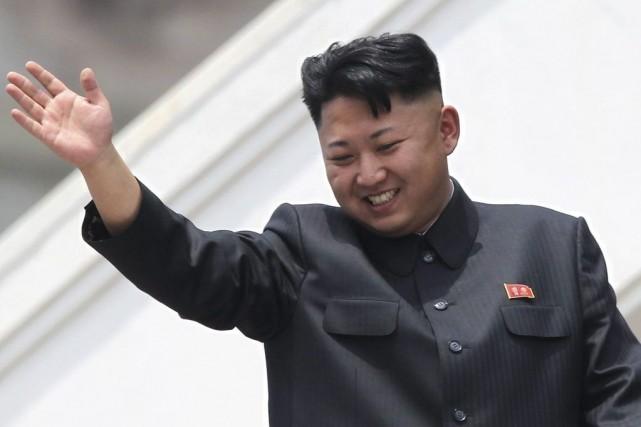 Kim Jong-Un n'a pas été vu en public... (Photo Wong Maye-E, Archives AP)