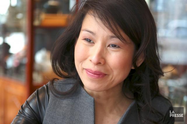 Alors qu'elle entame sa cinquième année comme auteure,... (Photo: Martin Chamberland, archives La Presse)