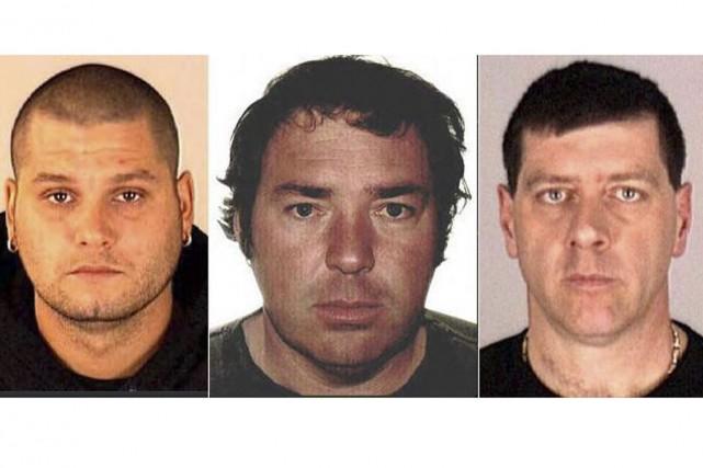 De gauche à droite, Yves Denis, Serge Pomerleau... (Archives La Presse Canadienne)