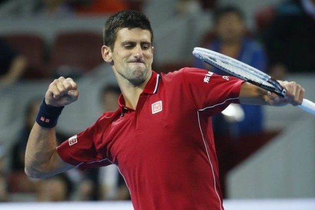 Novak Djokovic... (Photo Vincent Thian, AP)