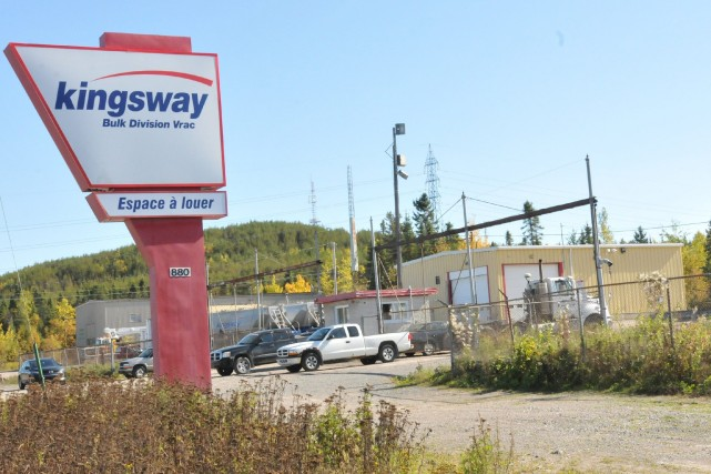 Le point de service de Kingsway à Chicoutimi... ((Photo Michel Tremblay))
