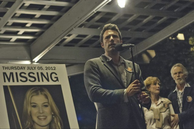 Ben Affleck dans Gone Girl.... (PHOTO FOURNIE PAR FOX)