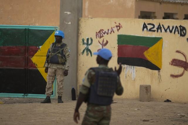 Un djihadiste malien proche du Mouvement pour l'unicité et le djihad en Afrique... (Archives AFP)