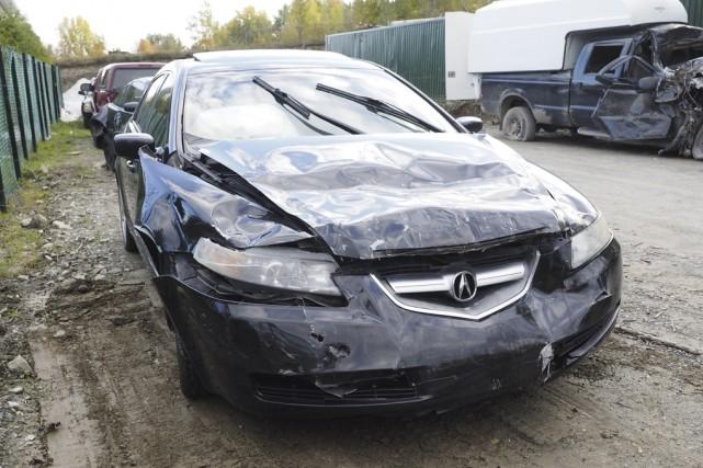 Une collision survenue dans une zone de 90 km/h, à Shefford, a fait sept... (photo Maxime Sauvage)