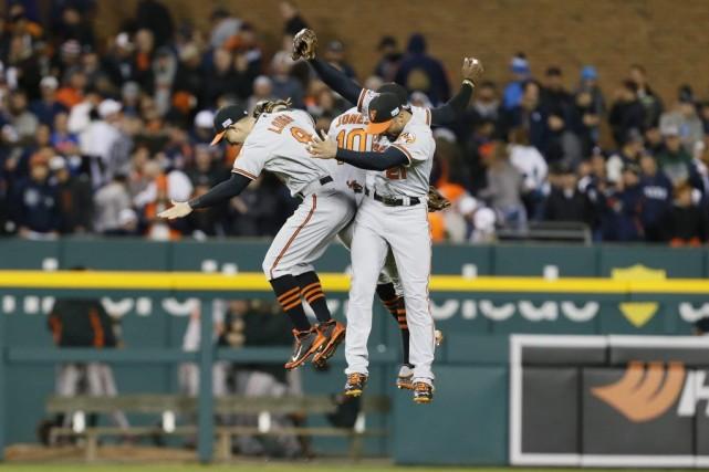 Nelson Cruz a claqué un circuit de deux points et les Orioles de Baltimore ont... (Photo: AP)