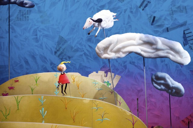 On retrouve dans Le jardin de Babel l'imagination... (Photo: Michel Pinault, fournie par la Maison théâtre)