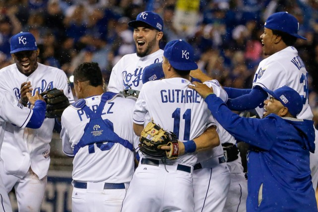 Les Royals de Kansas City ont signé une... (Photo Charlie Riedel, AP)