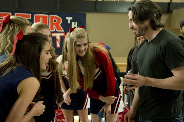 Jason Reitman, sur le plateau de Men, Women... (Photo: fournie par Paramount Pictures)