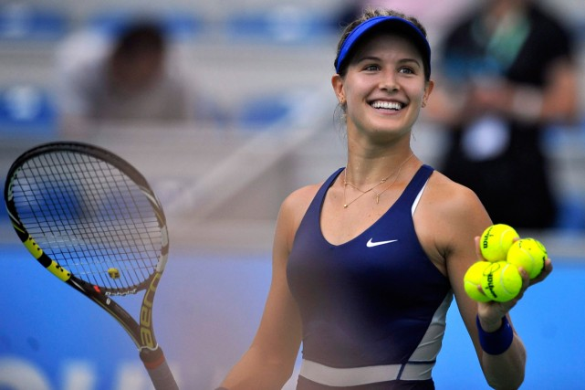 Eugenie Bouchard... (PC)