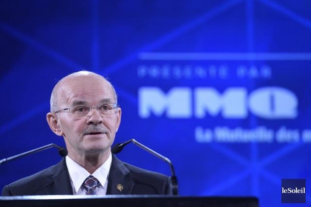 Richard Lehoux, président de la Fédération québécoise des... (PHOTO PASCAL RATTHÉ, LE SOLEIL)