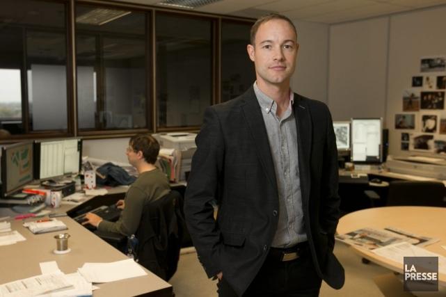 Brent Edwards, coordonnateur technique en informatique et géomatique... (PHOTO HUGO-SÉBASTIEN AUBERT, LA PRESSE)