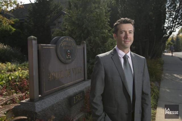 Martin Guevremont, conseiller municipal de Saint-Bruno-de-Montarville.... (PHOTO HUGO-SÉBASTIEN AUBERT, LA PRESSE)