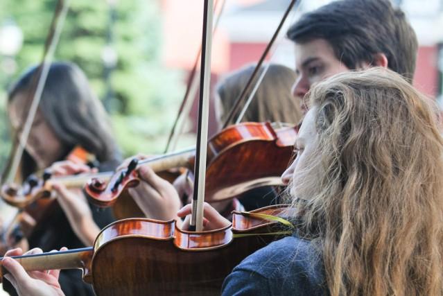 Belle solidarité autour des étudiants du Conservatoire de... (Photo: Émilie O'Connor, Le Nouvelliste)
