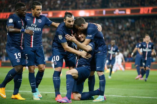 Le Paris Saint-Germain fait partie des neuf équipes... (Photo Kenzo Tribouillard, archives AFP)
