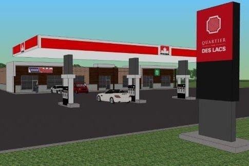 Un nouveau développement commercial verra le jour en décembre à... (Photo fournie)
