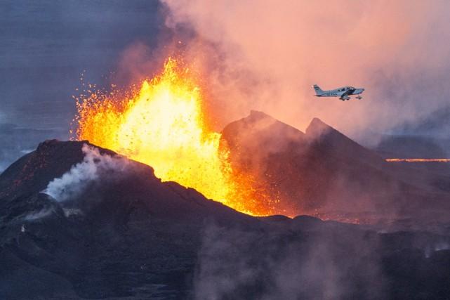 Le Bardarbunga est les eond plus haut volcan... (PHOTO BERNARD MERIC, ARCHIVES AFP)