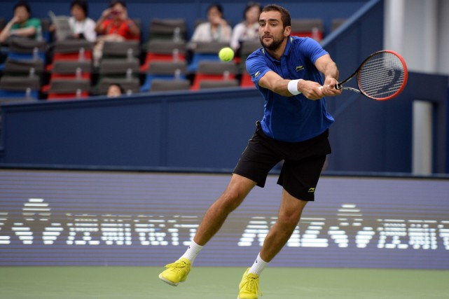Marin Cilic... (Photo Johannes Eisele, AFP)