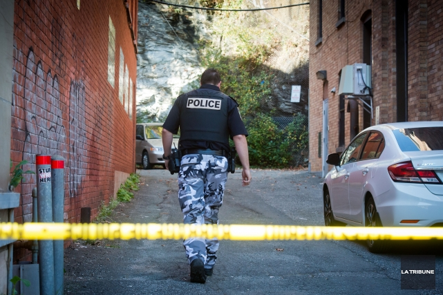 Le corps de l'homme a été découvert vendredi... (Imacom, Jessica Garneau)