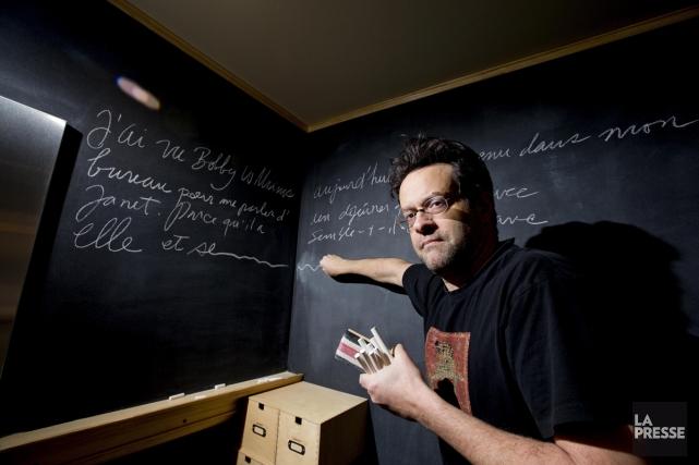 Télévision, cinéma, radio, théâtre, voix... Alexis Martin passe avec aisance... (Photo: Alain Roberge, La Presse)