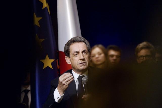 Nicolas Sarkozy est cité dans plusieurs autres affaires... (PHOTO STÉPHANE DE SAKUTIN, AFP)