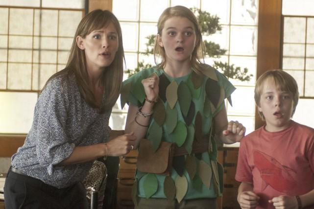 Kerris Dorsey (en vert) dans le rôle d'Emily.... (Photo: fournie par Disney)