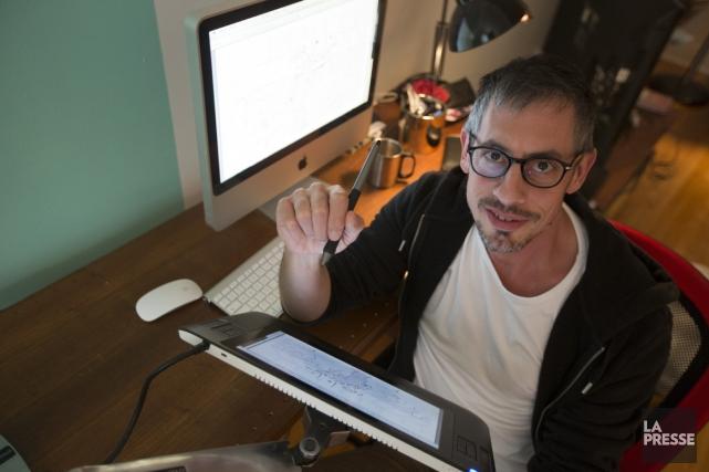 Stéphane Breton... (Photo: François Roy, La Presse)