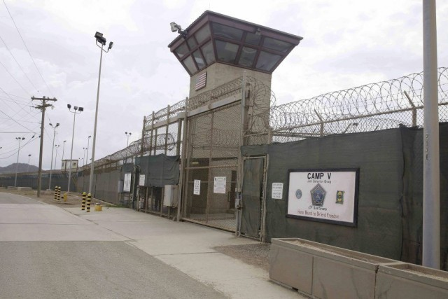 Un des 149 détenus de Guantanamo, Abou Dhiab,... (PHOTO BEN FOX, ARCHIVES AP)