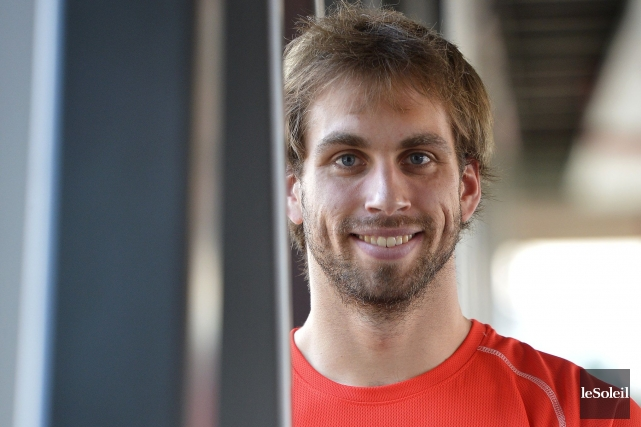 Alexandre Genois, de Cap-Santé,est le premier Québécois à... (Photothèque Le Soleil, Yan Doublet)