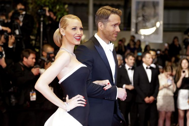 Blake Lively et Ryan Reynolds au Festival de... (Photo: AP)