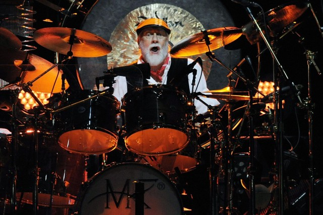 Le batteur Mick Fleetwood du groupe rock Fleetwood... (Photo Chris Pizzello, Archives AP)