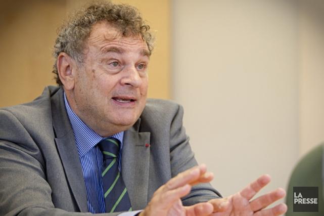 Christian Paire, ancien directeur général du Centre hospitalier... (PHOTO DAVID BOILY, ARCHIVES LA PRESSE)