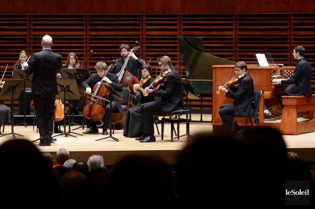 Le spectacle Les concertos pour orgue de Handel,... (Le Soleil, Jean-Marie Villeneuve)
