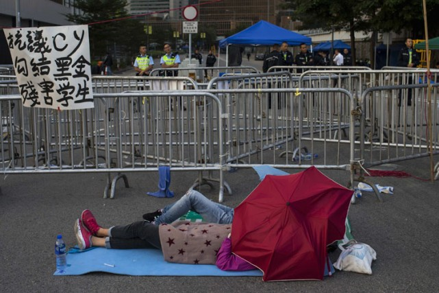 Hong Kong traverse sa plus grave crise politique... (Photo: Reuters)