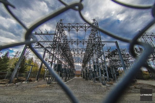 Hydro-Sherbrooke compte se doter d'un quatrième poste de distribution 120/25... (Imacom, Jocelyn Riendeau)