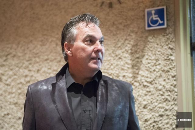 L'entrepreneur Denis Despins s'est présenté lundi soir à... (Photo: Stéphane Lessard, Le Nouvelliste)