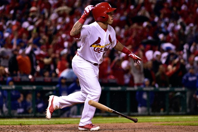 Kolten Wong a claqué un circuit de deux... (Photo Scott Rovak, USA Today Sports)