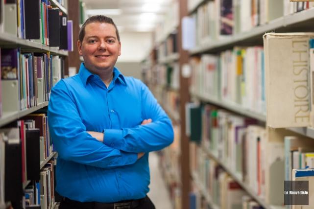 Christian Dumais est professeur de didactique du français... (Photo: Olivier Croteau, Le Nouvelliste)